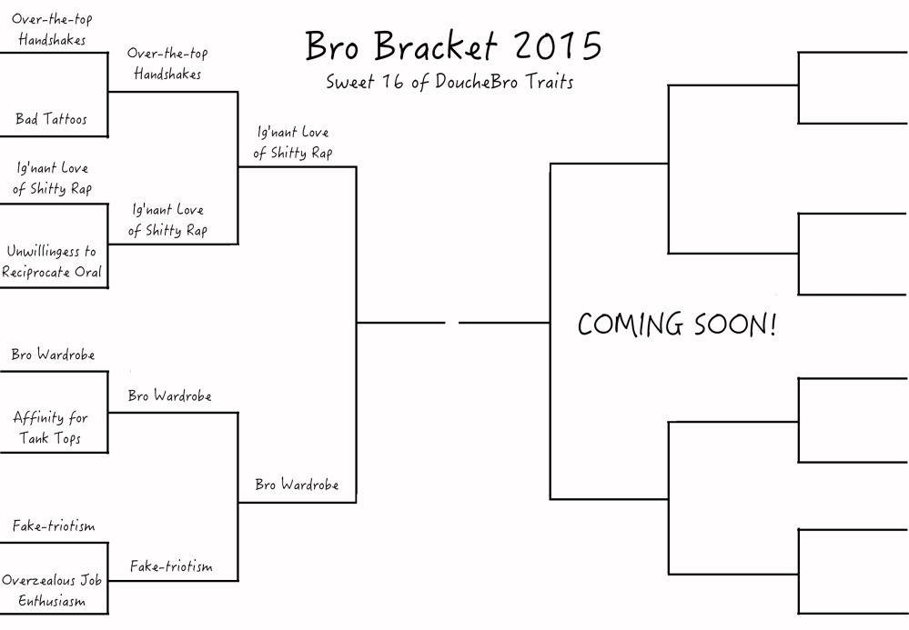 sweet16 bro bracket first half